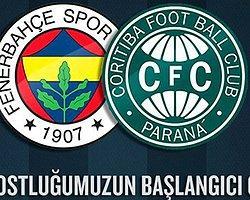 Coritiba'dan Fenerbahçe'ye Jest