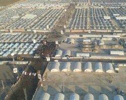 Başbakan'ın Helikopterinden Akçakale Kampı