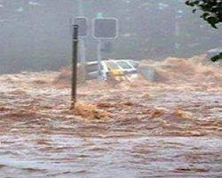 Marmaris'te Sağanak Yağmur Felaketi