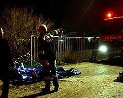 Kamyonet Drenaj Kanalına Düştü: 3 Ölü