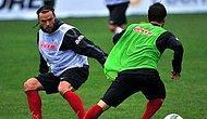 Galatasaray'da Ujfalusi Takımla Çalıştı