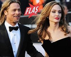 'Pitt ile Jolie Evlendi' İddiası