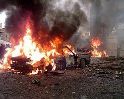 Şam'da Petrol İstasyonunda Bomba Patladı