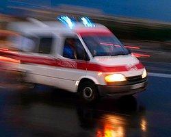 Elazığ'da Otobüs Kazası 19 Yaralı