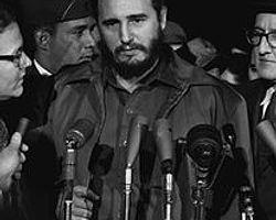 Fidel Castro Başkent Havana'ya Girdi