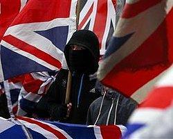 Belfast'ı Bölen Bayrak Kate Middleton İçin Dalgalanıyor