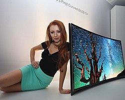 Samsung'dan Dünyanın İlk Kavisli Oled Tv'si!