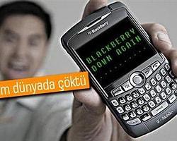 Blackberry İnternet Servisi Tekrar Çöktü