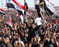 Irak'ta ''Nöbet Cuması'' Gösterileri