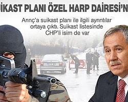 Arınç'a suikasti Özel Harp planladı