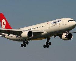 Türk Hava Yolları'nın İstanbul-Frankfurt seferini yapan TK -1593 sefer sayılı uç