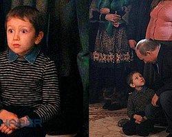 Putin'in Konuştuğu Çocuğun Gözleri Fal Taşı Gibi Açıldı