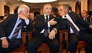Galatasaray Divan Kurulu'nda Aysal ve Terim Yan Yana