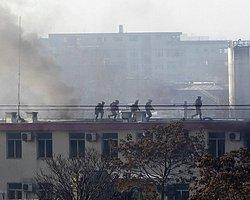 Taliban Militanları Kabil'de Polis Merkezini Bastı