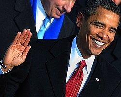 Obama Halkı Önünde Yemin Etti