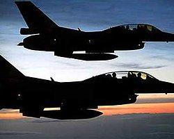 Savaş Uçakları Sınır Bölgesinde