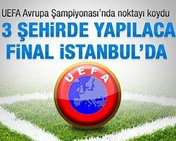 UEFA'nin 2020 Avrupa Şampiyonası İstanbul'da