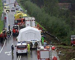 Portekiz'de otobüs kazası: 10 ölü