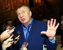 Jirinovski'ye Lahana Turşulu Saldırı