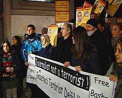 Ankara'da Gazeteci Bashar Kadumi İçin Eylem
