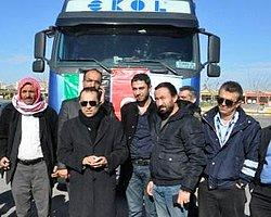 Almanya'dan Suriye'ye 1 TIR yardım