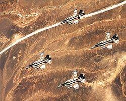 'İsrail Jetleri Suriye Sınırını Vurdu'
