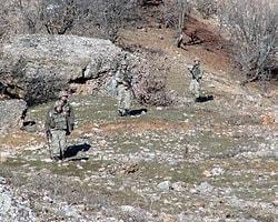 Mehmetçik PKK'lı İzi Sürüyor