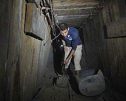 Gazze Tünelleri Suyla Kapatıldı