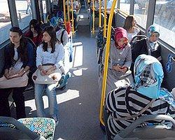 Afyon'da 'Kadına Özel' Otobüs