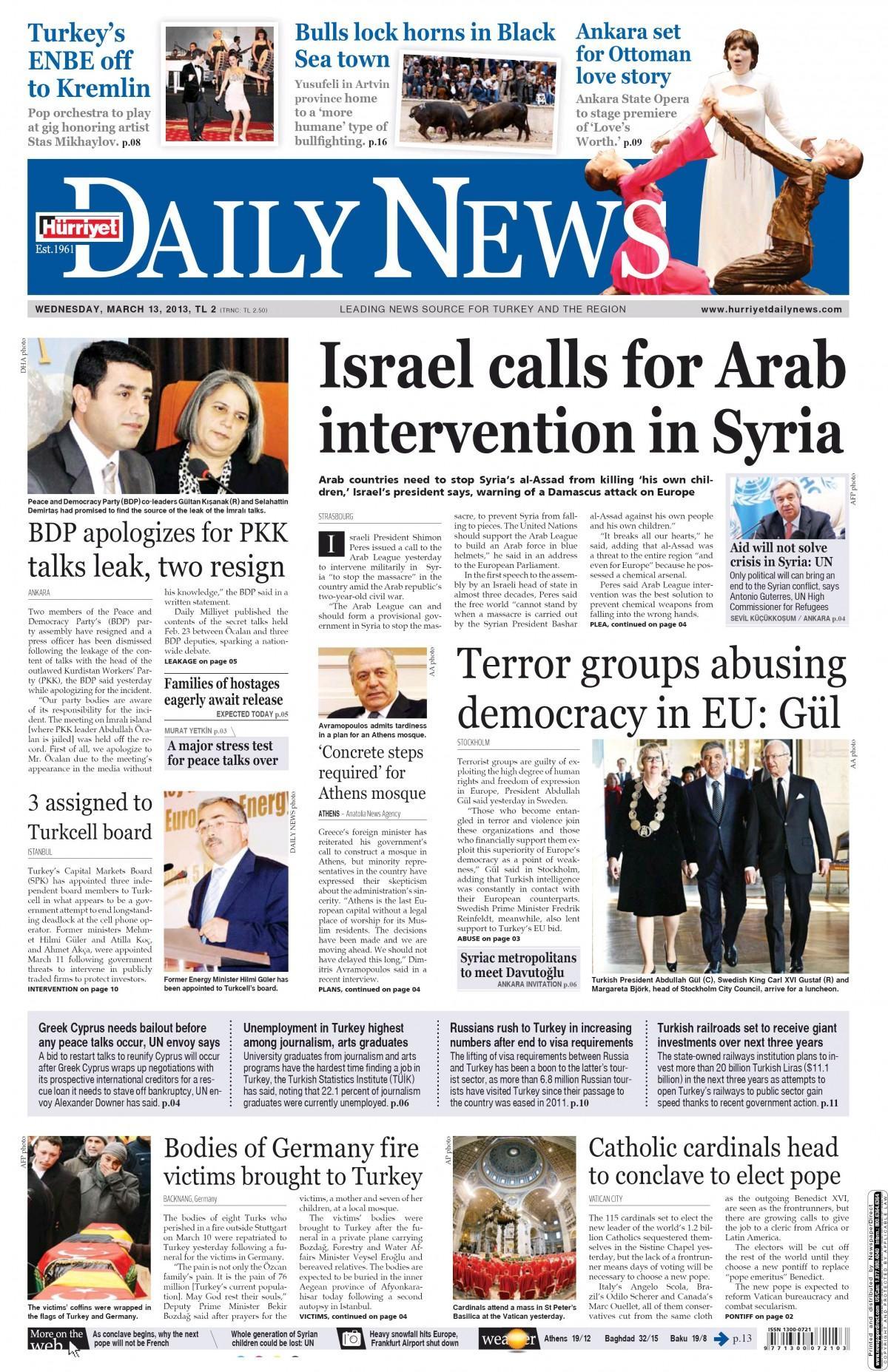 Daily news 3april1973 parties resume gittigidiyorda 51578672