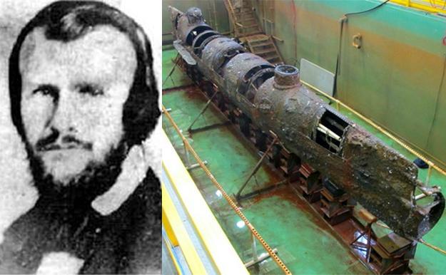 horace lawson hunley denizaltı ile ilgili görsel sonucu