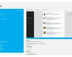 Windows 8 İçin Resmi Twitter Uygulaması Çıktı