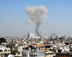 Şam'da Hava Saldırısı: 10 Ölü
