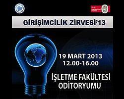 İstanbul Üniversitesi Girişimcilik Zirvesi'13, 19 Mart'ta!
