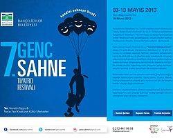 """İstanbul, Bahçelievler Belediyesi """" 7. Genç Sahne """" Tiyatro Festivali"""
