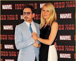 Gwyneth Paltrow ve Robert Downey Jr.'dan Eğlenceli Pozlar