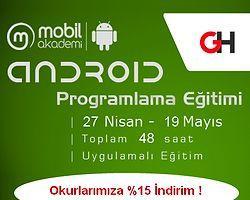 Mobil Girişimci Olmak İsteyenlere Android Programlama Eğitimi