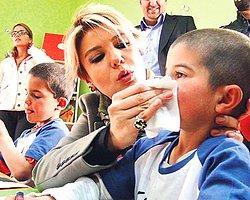 Gülben Ergen Kars'ta Yapılan Anaokulu Açılışına Katıldı
