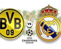 Borussia Dortmund - Real Madrid Saat Kaçta, Hangi Kanalda?