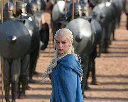 Khaleesi'nin 'Lekesizler' Ordusunu Ele Geçirme Sahnesi