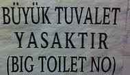 Yaratıcılıkta Sınır Tanımayan 20 Tuvalet Uyarı Yazısı