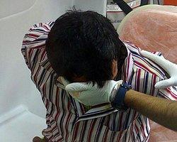 Polis Delirdi: Akıl Hastasına Gaz Bombası!