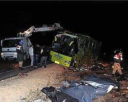 Tokat'ta Otobüs Devrildi: 6 Ölü, 12 Yaralı