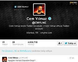 Cem Yılmaz'dan 'Gezi Parkı' Tweeti