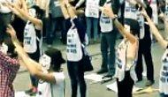 Thy Hosteslerinden İlginç Protesto!
