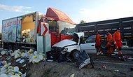 Kütahya'da Kamyonla Otomobil Çarpıştı: 5 Ölü