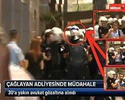 Çağlayan Adliyesi'nde Çok Sayıda Avukat Gözaltına Alındı