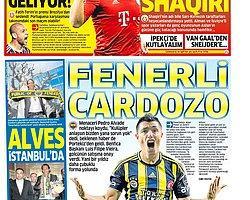 Sporun Manşetleri | 12 Haziran 2013
