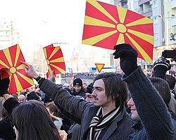 Erdoğan'a Makedonya'dan Destek Mitingi
