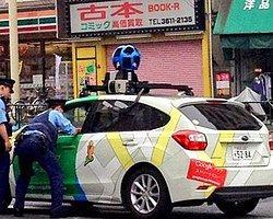 Japon Polis Google'ın Aracını Durdurdu